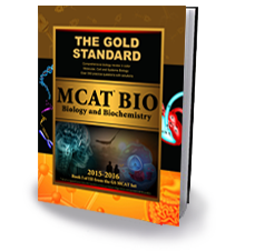 The Gold Standard New MCAT Biology & Biochemistry book