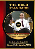 Medical School Interview DVD